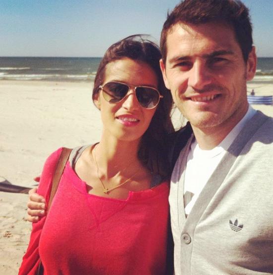 Casillas và Sara Carbonero gắn bó suốt 6 năm nay.