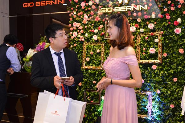 Nhiều doanh nhân, đối tác chiến lược cũng là khách hàng thân thiết của Gio Bernini.