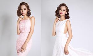 Miu Lê quyến rũ với váy đi tiệc