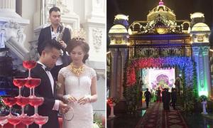 Đám cưới 'khủng' ở tòa lâu đài hoành tráng bậc nhất Nam Định