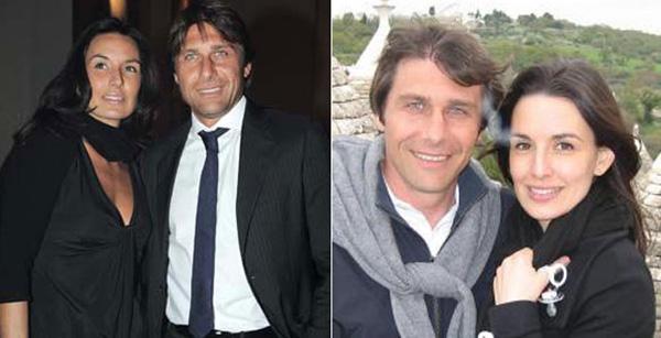 Bên cạnh sự nghiệp HLV rực rỡ, HLV Conte cũng có một mái ấm cổ tích
