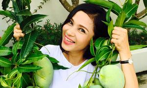 Việt Trinh tìm thấy hạnh phúc trong ngôi nhà rợp rau, trái