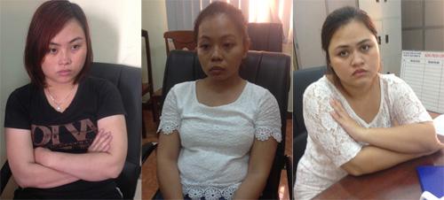 Các đồng phạm người Việt của Micheal IkeChukwu Leonard. Ảnh: C.A.