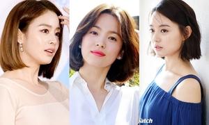10 nữ hoàng tóc bob của showbiz Hàn