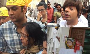 Cha mẹ, bạn bè đau buồn cầu nguyện cho Pratyusha