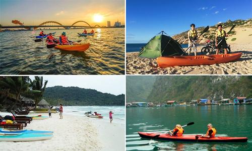 16 nơi chèo thuyền kayak thú vị từ Bắc vào Nam