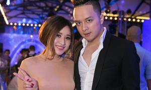 Vợ cũ Hồ Quang Hiếu vui vẻ hội ngộ Cao Thái Sơn