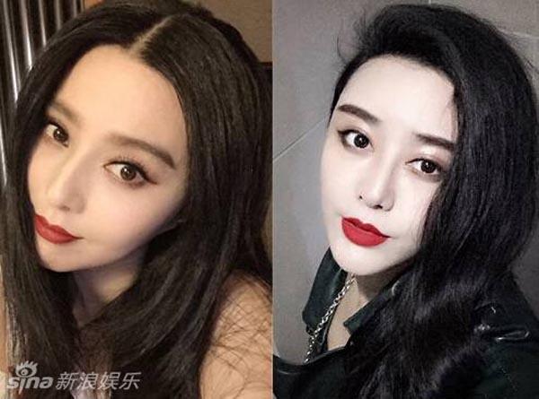 Theo Sina, cô gái này là He Chengxi. Suốt 8 năm qua, cô liên tục trải qua các cuộc phẫu thuật thẩm mỹ để biến mình trông thật giống với nữ diễn viên xinh đẹp Phạm Băng Băng.