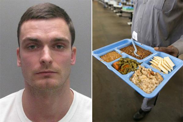Gần một tháng ngồi tù, Adam Johnson sụt 3 cân.