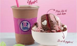 Kem Baskin Robbins ưu đãi đón hè