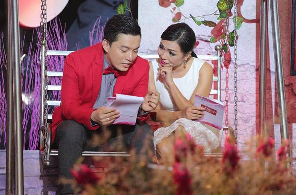 Lam Trường thích thú khoe ảnh chụp cùng Phương Thanh trong một show truyền hình