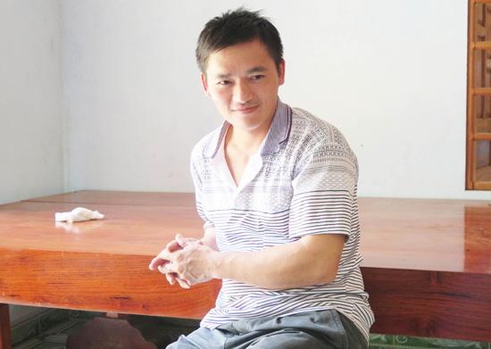 May mắn hơn những người phụ nữ Việt Nam khác, anh Trung rất thương yêu chị Bậu