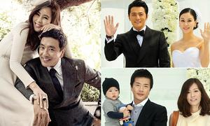 5 cặp vợ chồng nghệ sĩ được ngưỡng mộ nhất showbiz Hàn