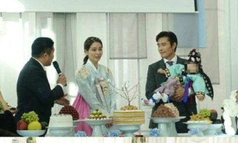 Lee Byung Hun tổ chức lễ thôi nôi cho con trai