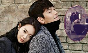 Shin Min Ah đi chơi cùng tình trẻ Kim Woo Bin