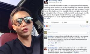 Facebook giả mạo Cường Đô La đăng status mùi mẫn về Hà Hồ