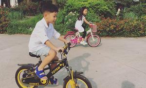 Subeo thích thú đạp xe trong kỳ nghỉ lễ