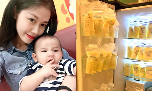 8 siêu phẩm lợi sữa của bà xã Đăng Khôi