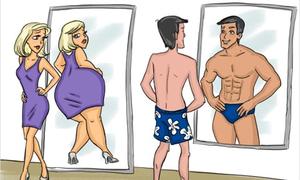 Sự khác biệt giữa nam và nữ qua bộ ảnh hài hước