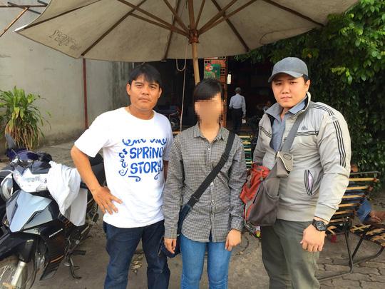 Kim Liên (sinh năm 1996, quê Long An) bị bán vào quán cà phê chòi ở phường Tân Đông Hiệp với giá 1,5 triệu đồng và được giải cứu vào tháng 5/2015.