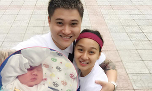 Vũ Duy Khánh hủy show cả tháng để ở nhà làm bố bỉm sữa