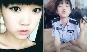 Nữ cảnh sát xinh đẹp mất việc vì ảnh selfie thiếu đứng đắn