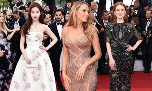 Blake Lively mang bầu vẫn đẹp nhất lễ khai mạc Cannes