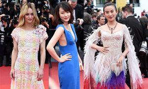 5 sao mặc xấu tại lễ khai mạc Cannes