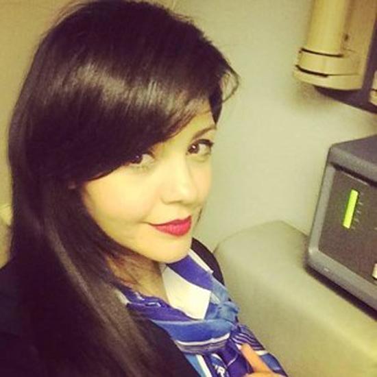 Nữ tiếp viên Samar Ezz Eldin. Ảnh: Facebook