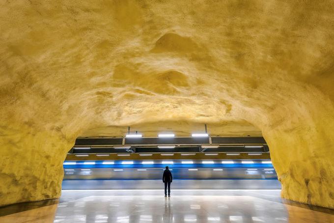 \'Thế giới ngầm\' đầy nghệ thuật ở Stockholm