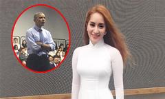 Khánh Thi xúc động khi được dự buổi nói chuyện với ông Obama