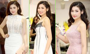 Dương Tú Anh thay 4 bộ đầm trong sự kiện