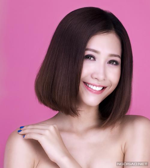 Kiểu tóc này hợp với nhiều dáng mặt, giúp các bạn gái trông trẻ trung hơn.