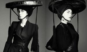 Ngô Thanh Vân, Xuân Lan phá cách với váy đen