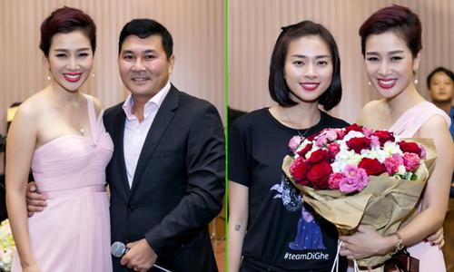 Thu Hương được ông xã tổ chức sinh nhật hoành tráng