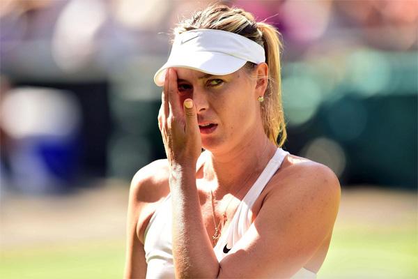 Sharapova nổi bật nhất trong số 8 nữ VĐV lọt vào danh sách.
