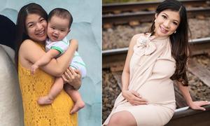 Phạm Thanh Thảo sắp sinh con trai thứ hai