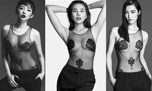 Thanh Hằng đụng Tóc Tiên thiết kế sexy khiêu khích