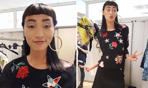 Trang Khiếu gia nhập công ty quản lý thiên thần Victoria's Secret