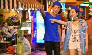 Trang Moon, HuyMe khám phá ẩm thực đường phố
