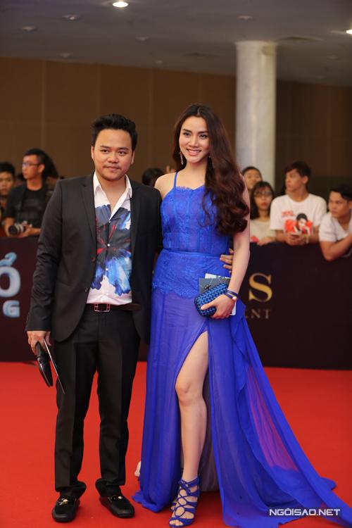 Trang Nhung tham dự sự kiện cùng chồng.