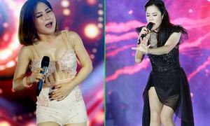 Hương Tràm, Thu Phương sexy trên sân khấu Vinh