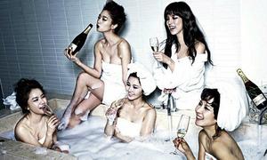 Tìm lỗi photoshop ngớ ngẩn trong loạt ảnh sao Hàn