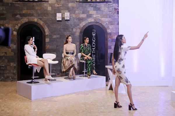 Sự mất bình tĩnh của Lan Khuê khiến các thí sinh trong đội của cô trở nên căng thẳng khi bước vào phần chụp ảnh.