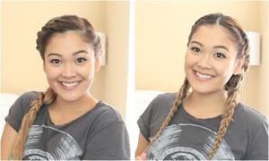 5 cách tạo kiểu đơn giản cho mái tóc ướt nhẹp vì mưa