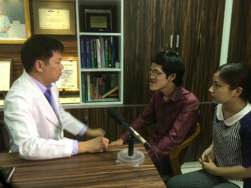 Bác sĩ đánh giá ca phẫu thuật cho Thục rất khó và phức tạp. Ảnh: T.D.