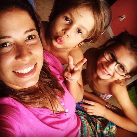 Ba mẹ con chị Gabriela.
