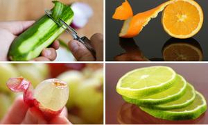 12 loại quả thường bị bỏ phần vỏ vốn là thuốc quý