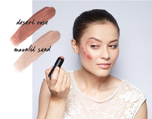 Nếu sử dụng các tone màu trầm như nâu cam hoặc nâu cát, bạn sẽ