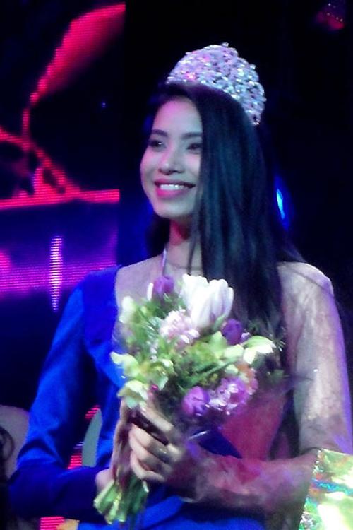 Á hậu 1 Hoa hậu thể thao thế giới 2014.